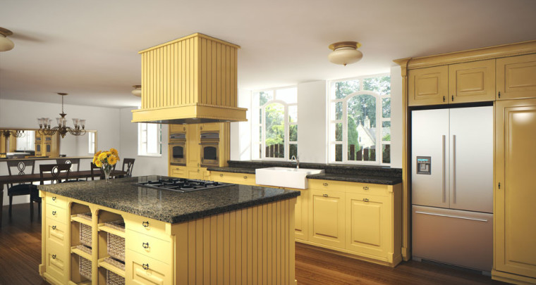 Brighten Up Classic Kitchen Designs