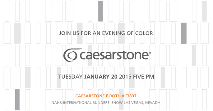 Join Caesarstone at NAHB International Builders' Show in Las Vegas