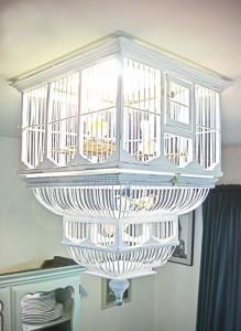 chandelier bird cage