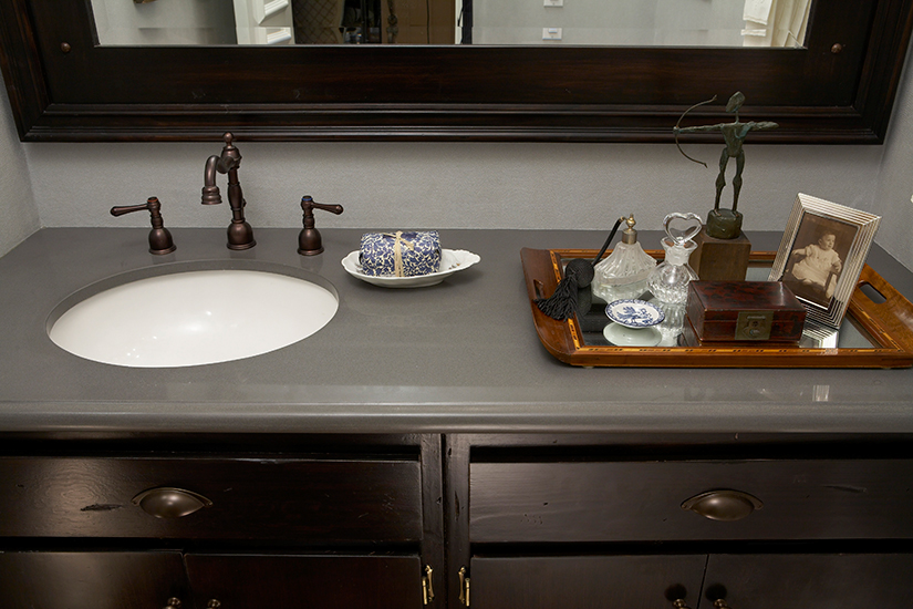 Counter Tops Bathroom  Bathroom Copper Countertop  Solid Surface. Quartz Countertops For Bathroom Vanities   Rukinet com