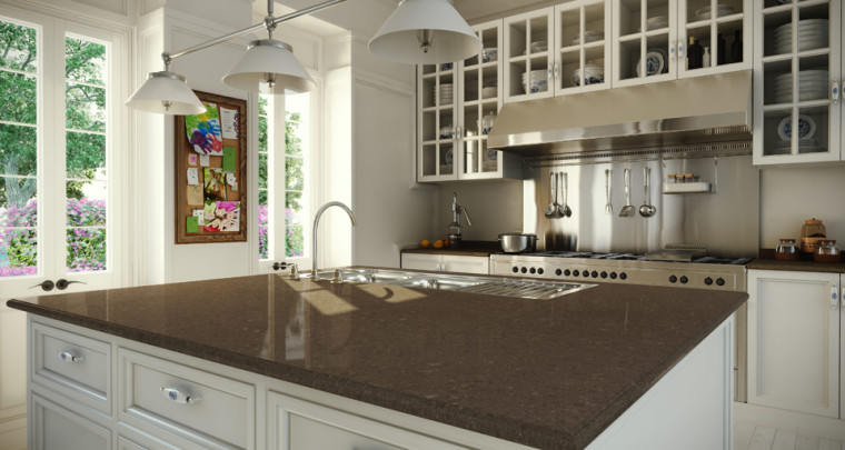 Kitchen Countertop Trends: How Much Color is too Much Color?